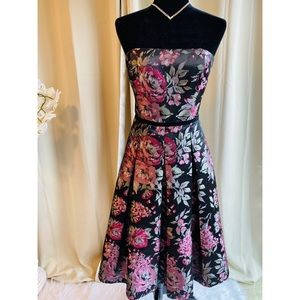 Elegant Formal Floral Dress